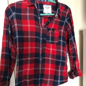 Tops - A&F flannel